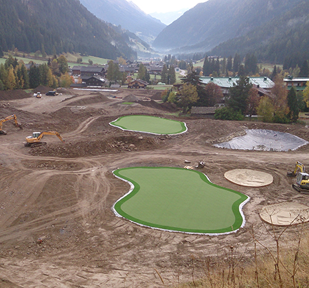 Myview Golf Court Construction